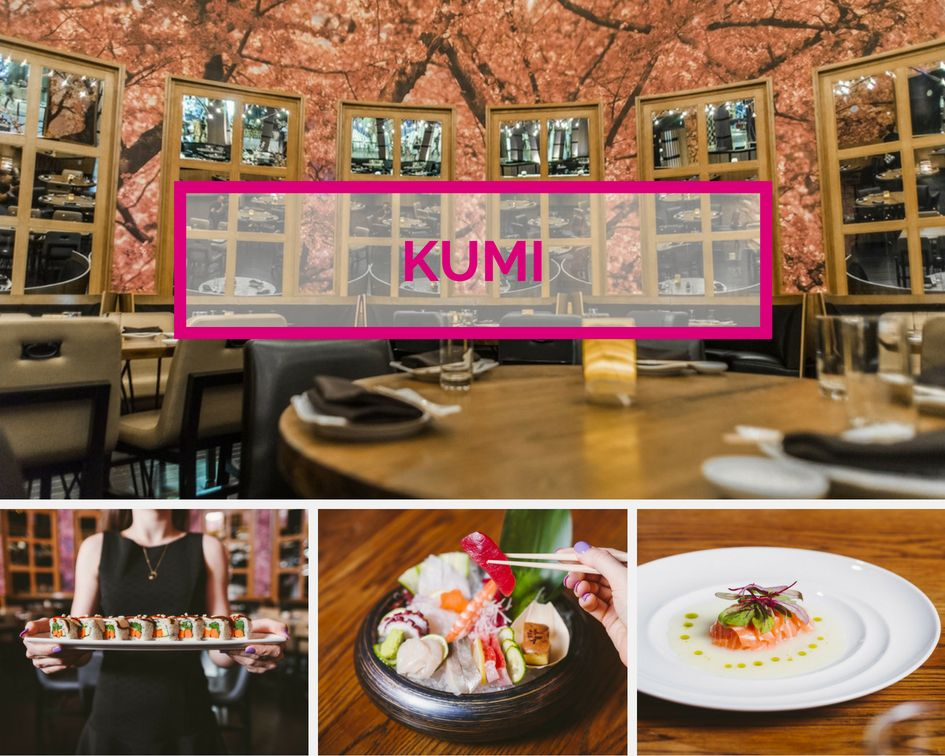 Kumi Sushi at Mandalay Bay Las Vegas