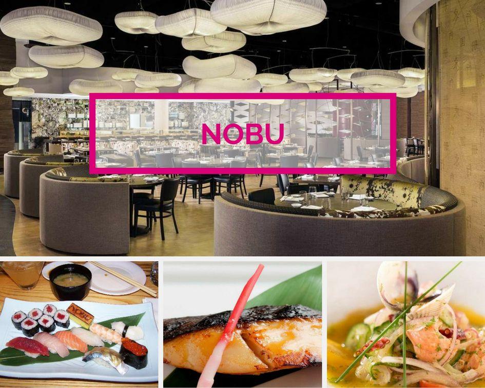 Nobu sushi Restaurant at Caesars Palace Las Vegas