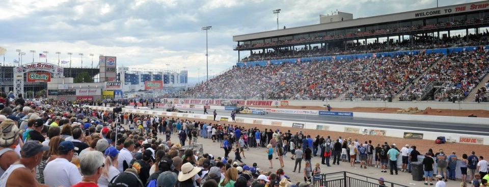 Las Vegas Motor Speedway NHRA Nationals Drag Racing