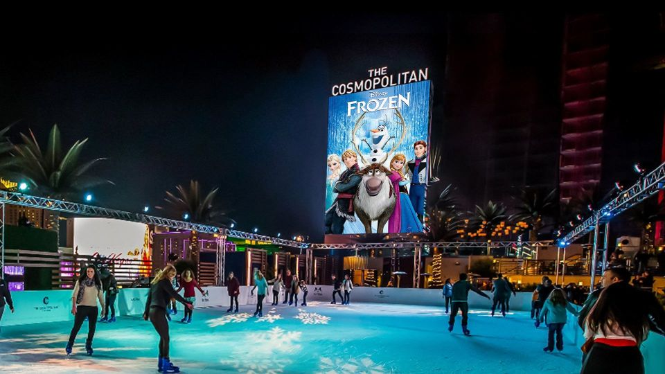 Cosmopolitan Las Vegas Movie under the stars