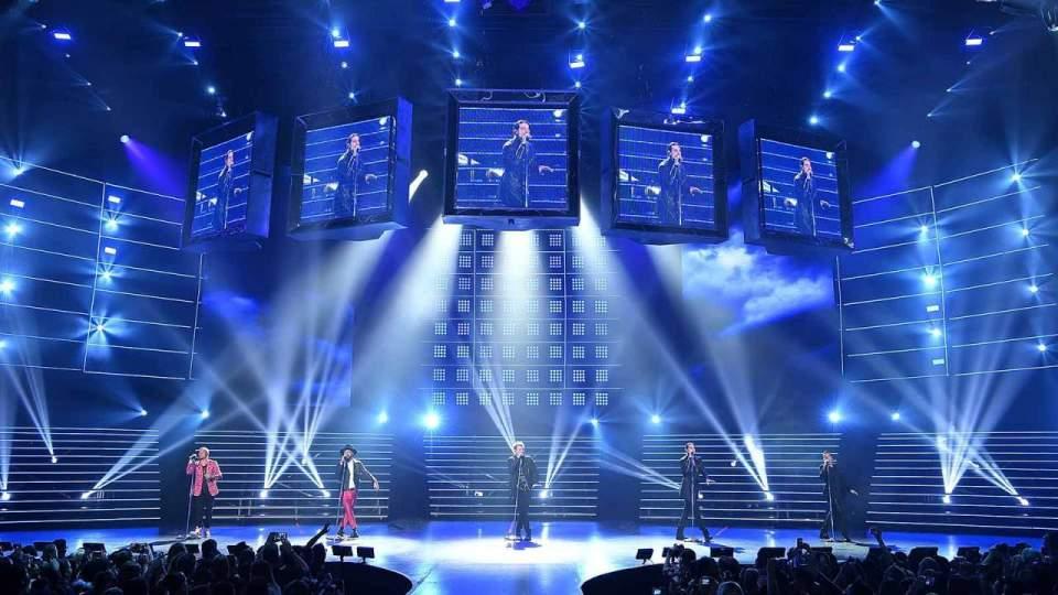 Backstreet Boys Planet Hollywood Las Vegas