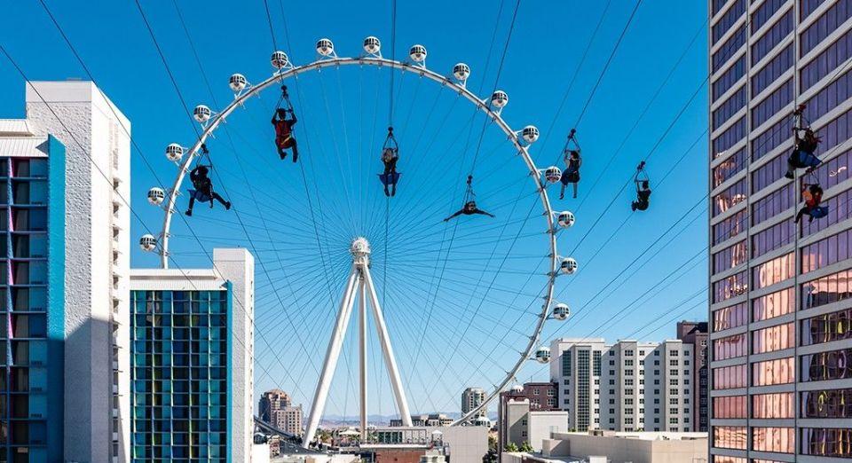 Fly LINQ Zipline Las Vegas