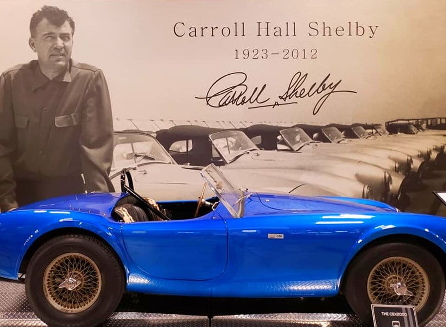 The Shelby Heritage Center Las Vegas Shelby Cobra
