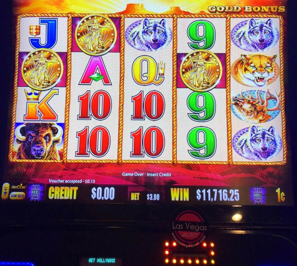 Las Vegas Buffalo Gold Jackpot