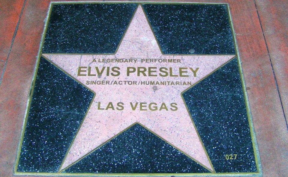 Las Vegas Walk of Stars Elvis Presley
