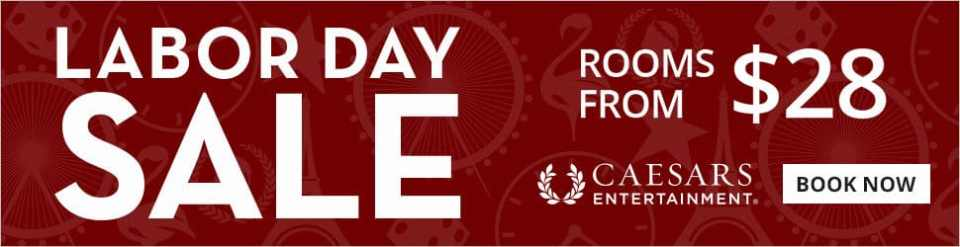 Las Vegas Labor Day Flash Sale 40% Off
