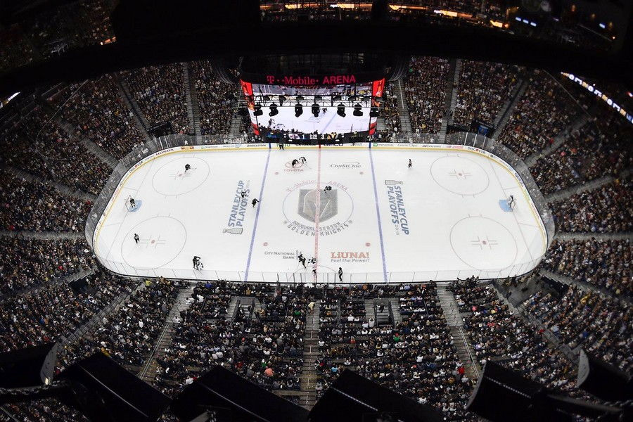 Las Vegas Golden Knights T Mobile Arena