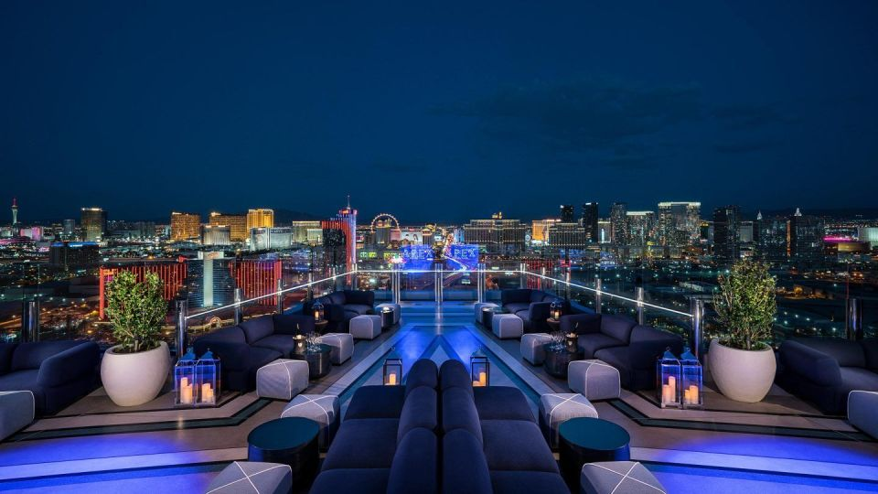 Palms Las Vegas Apex Rooftop Bar & Lounge