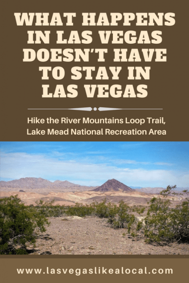 Hiking Las Vegas, River Mountains Loop Trail