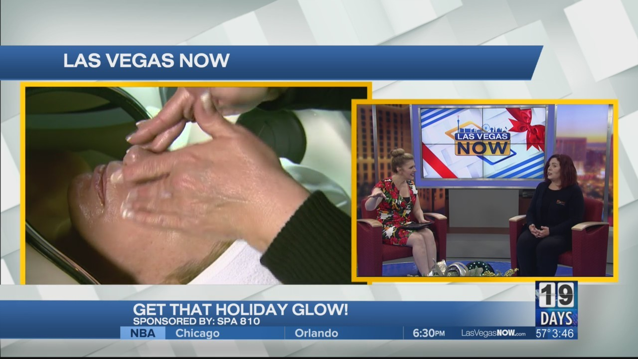 Get the holiday glow with spa 810