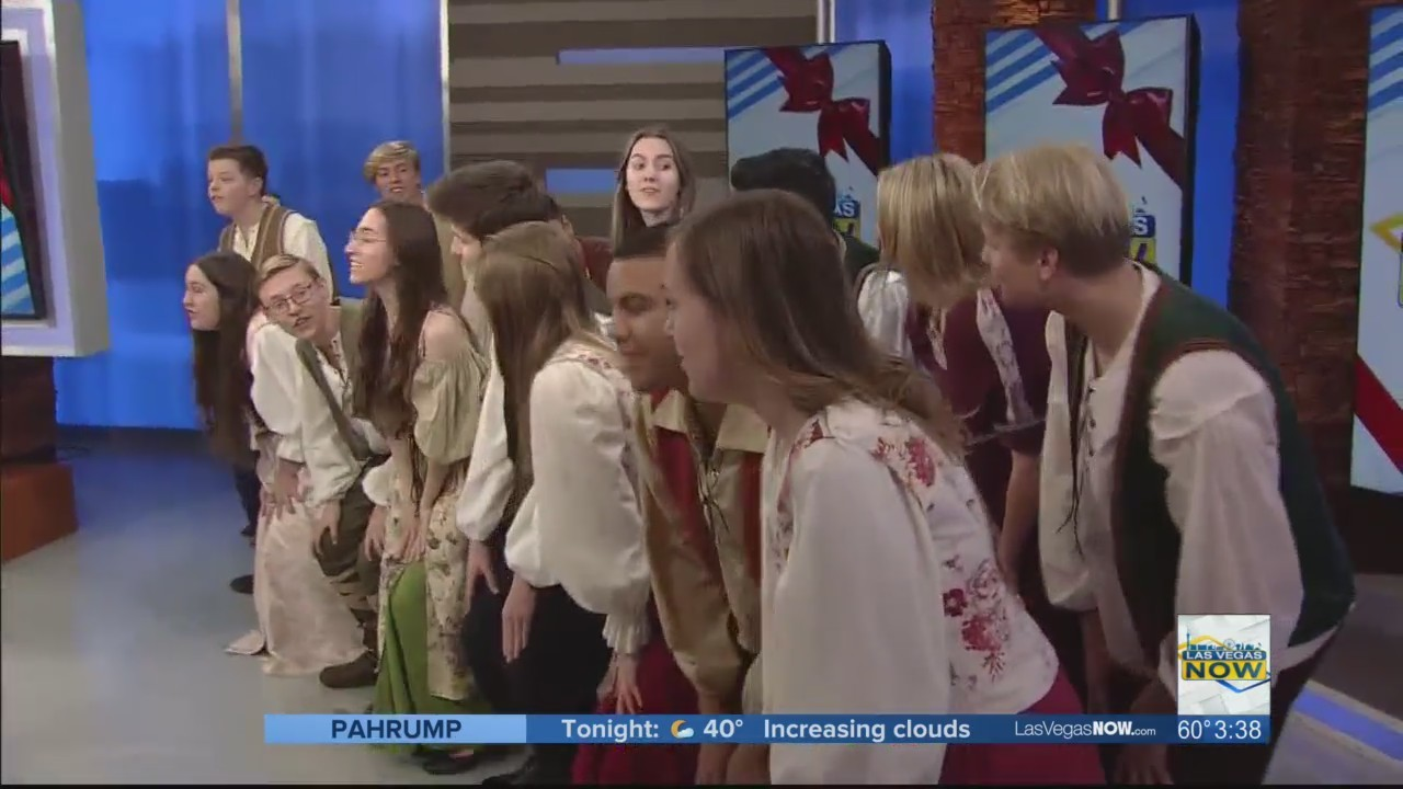 The Green Valley Madrigal Choir brings the Christmas cheer