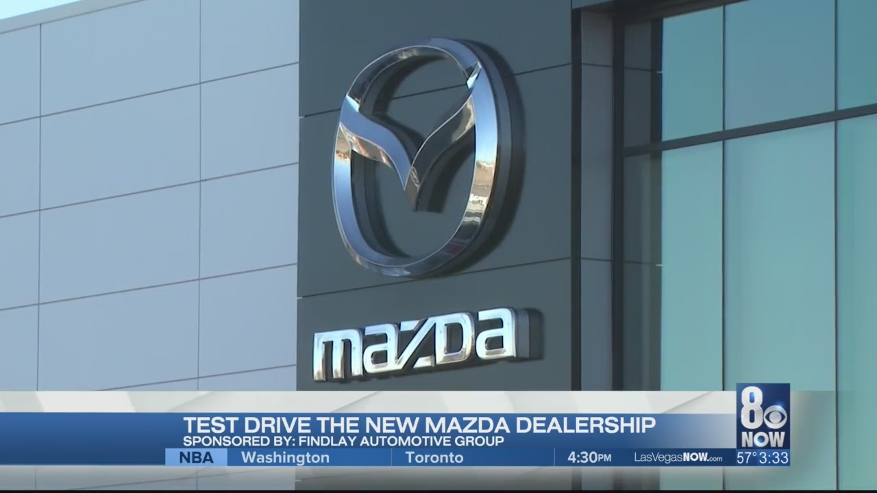 Courtney checks out the new Findlay Mazda