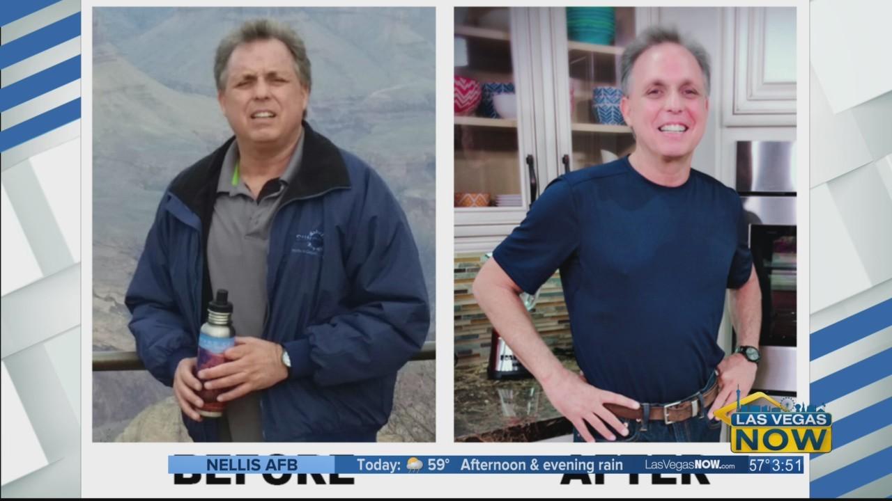 Frank has lost 19 pounds using Dr. Nash's program