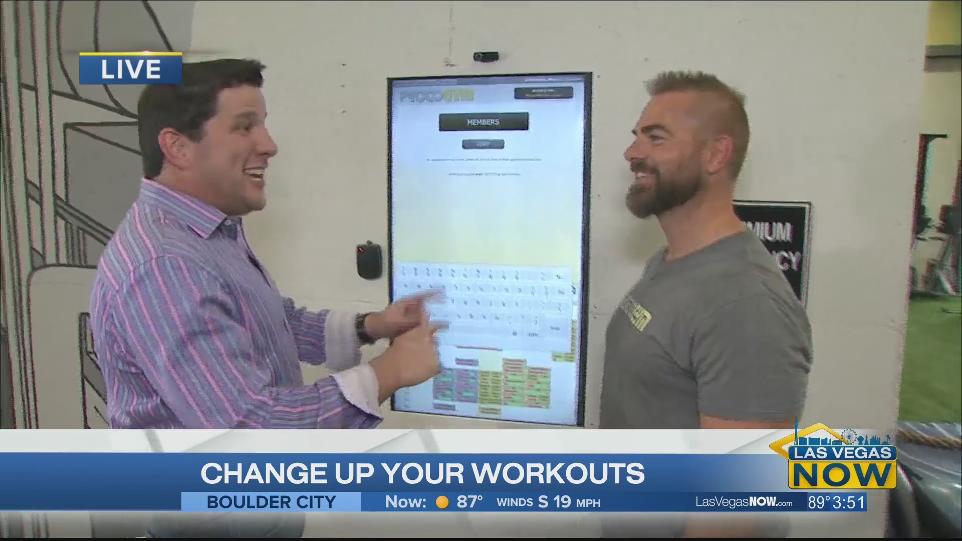 PROTOGYM mixes in software with working out