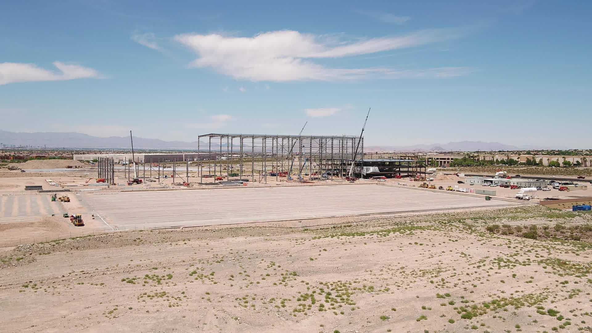 Drone Video of Raiders Practice Facility