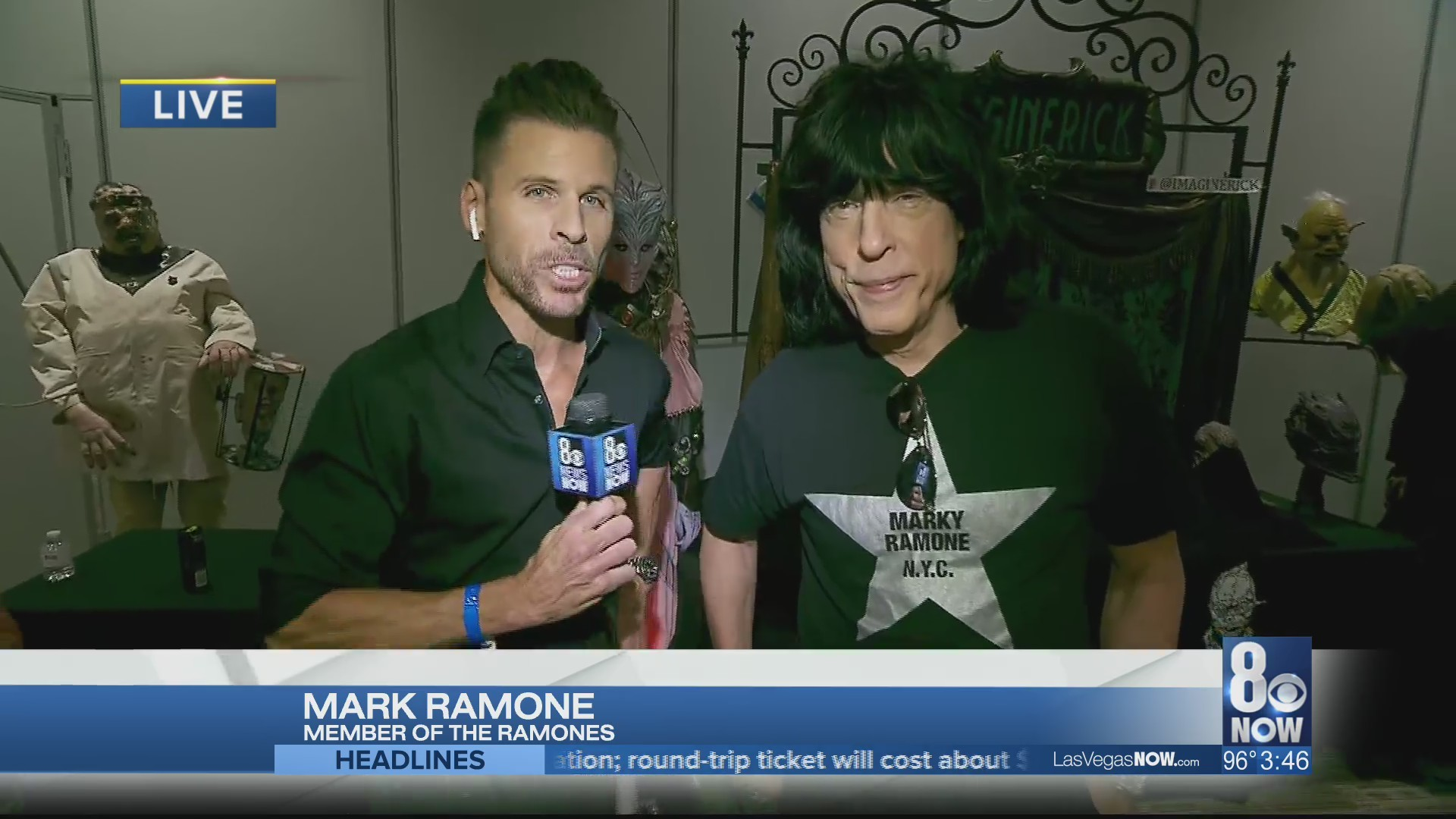 """JC chats about the """"Days of the Dead"""" expo with Marky Ramone"""