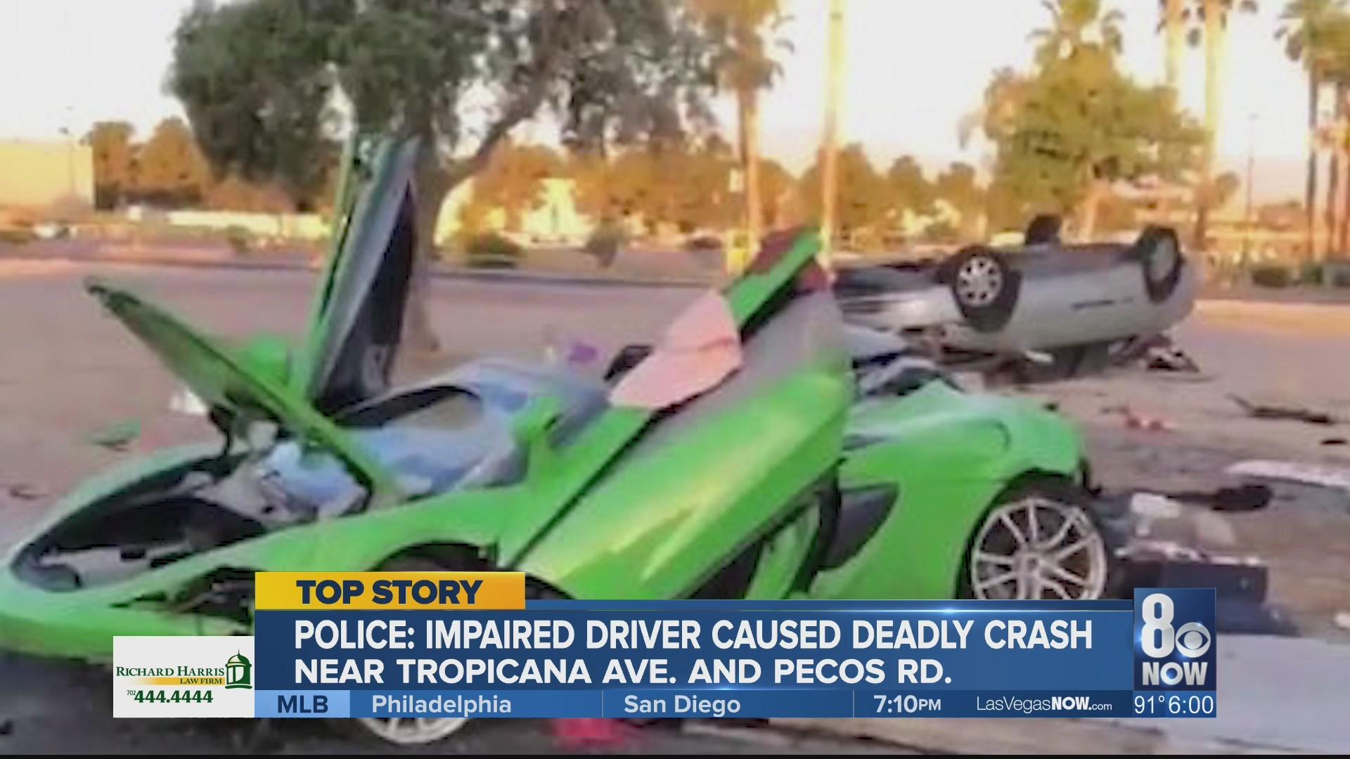 Coroner ID's man killed in DUI crash involving sports car