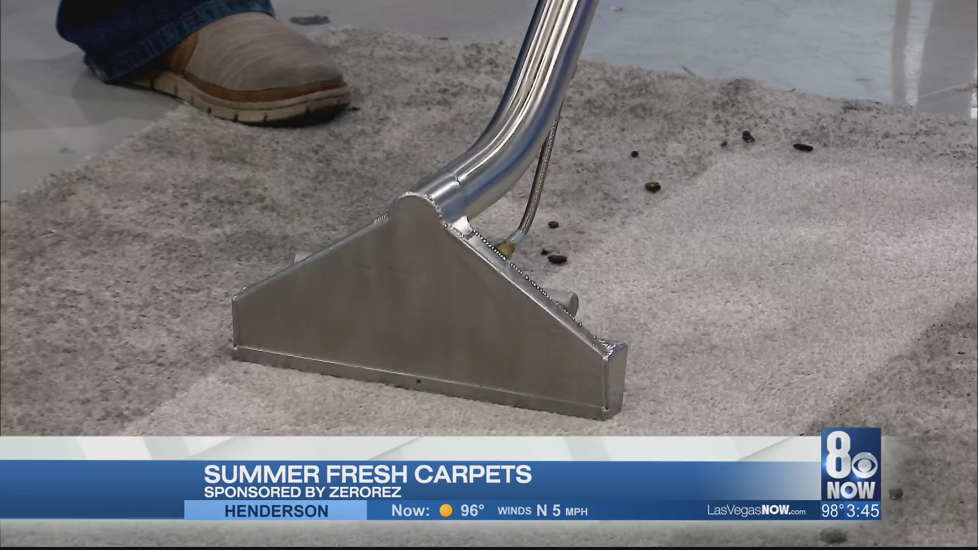 Summer fresh carpets with Zerorez