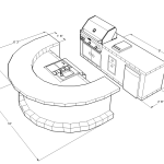 9300 Series Barbecue Island Design