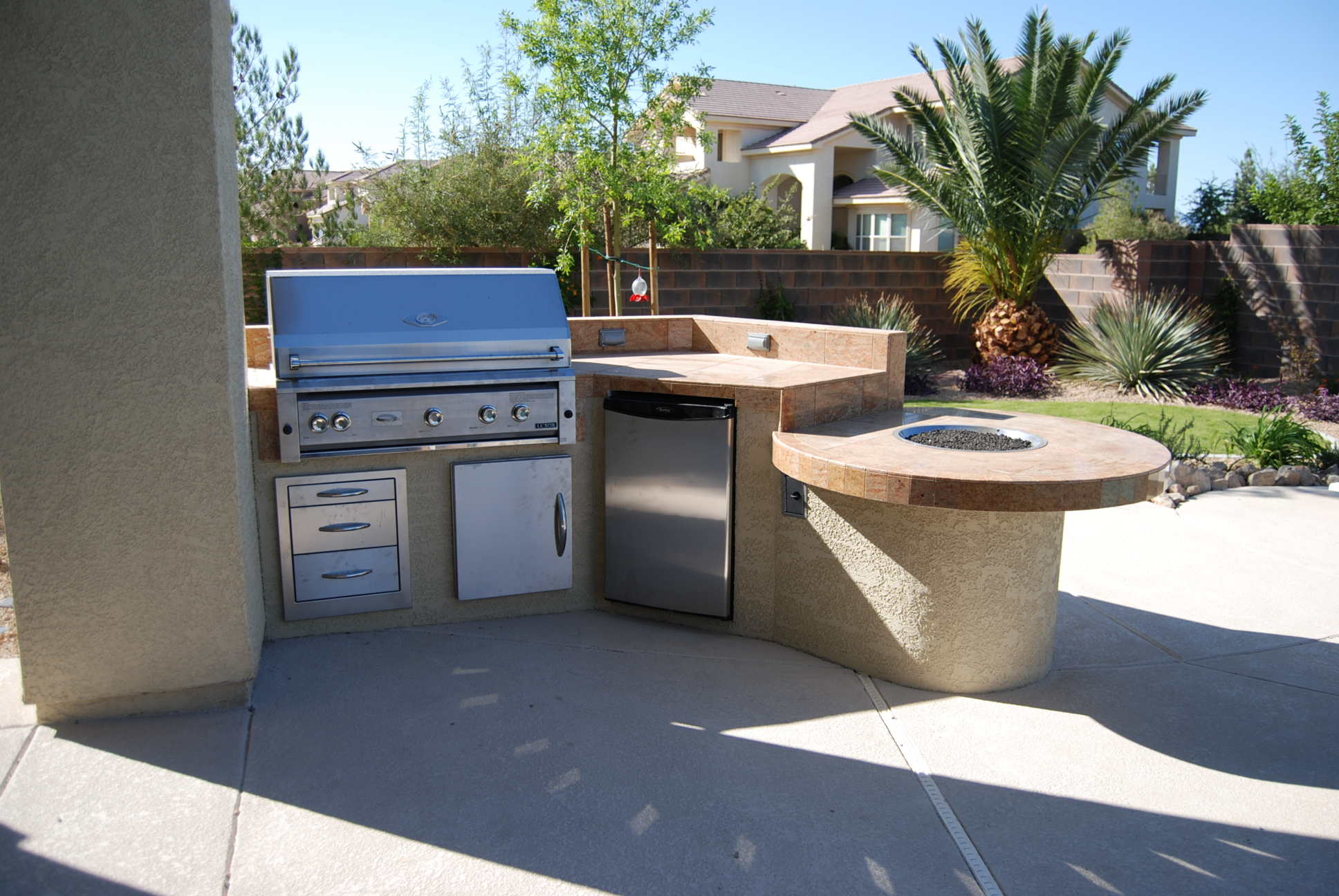 Gallery Of Outdoor Kitchens And Decor Las Vegas Outdoor