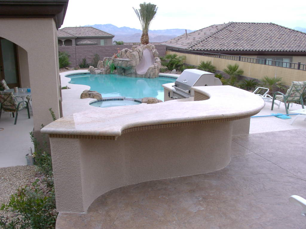 Outdoor Barbecue Kitchen Designs Barbecue Islands Las Vegas Outdoor Kitchen