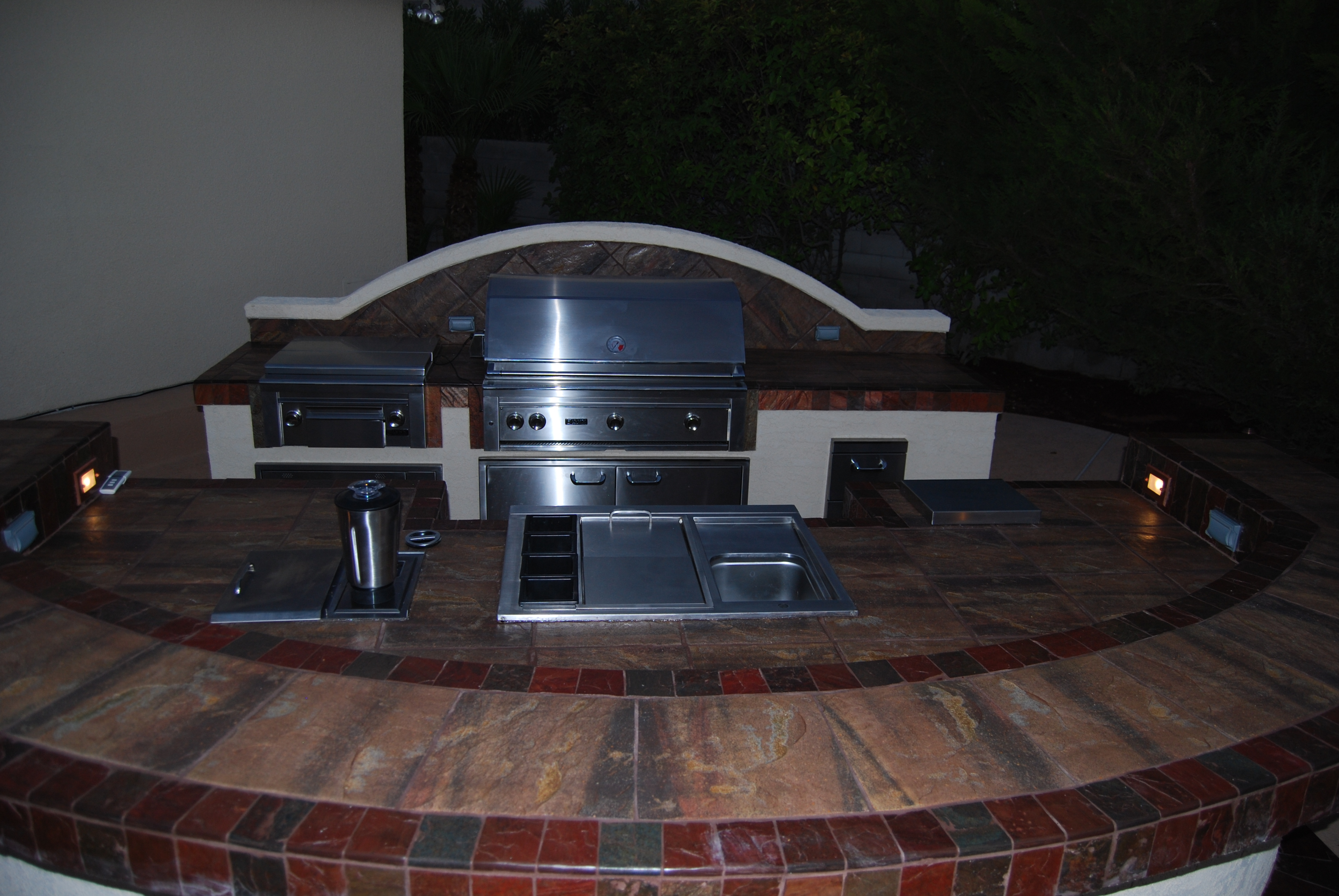 outdoor kitchens las vegas stainless steel doors for kitchen