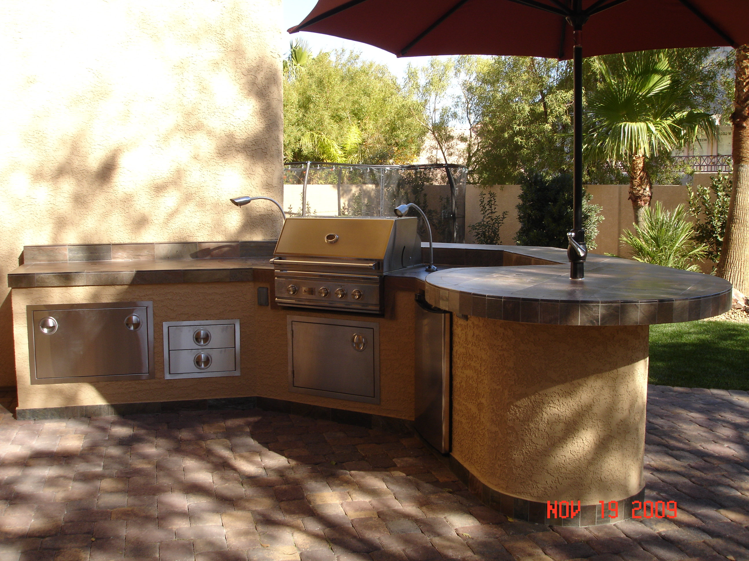 outdoor kitchens las vegas kitchen island with seating for 2