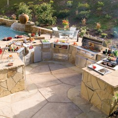 Outdoor Kitchen Pics Countertops Types 5 Perfectly Amazing Layout Ideas