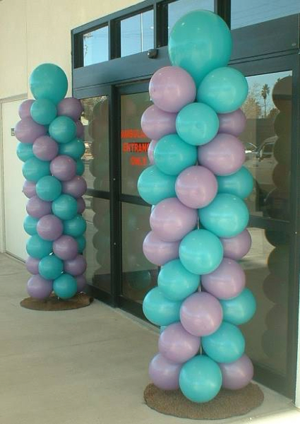 Las Vegas Balloon Columns  Las Vegas Party Events  Las