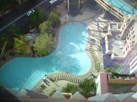 new-york new-york hotel las vegas piscine