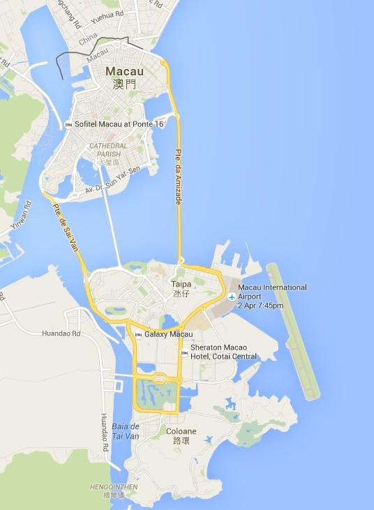 carte Macao