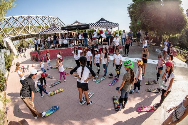 Girls Skate Chile - Mujeres Sobre Ruedas Chile