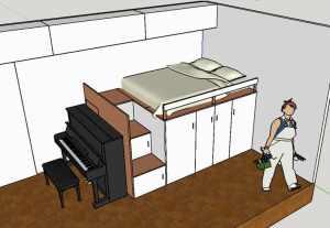 mezzanine sur-mesure multifonction
