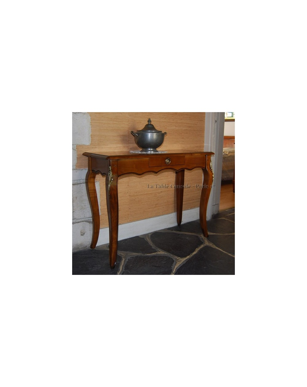 table console extensible style louis xv