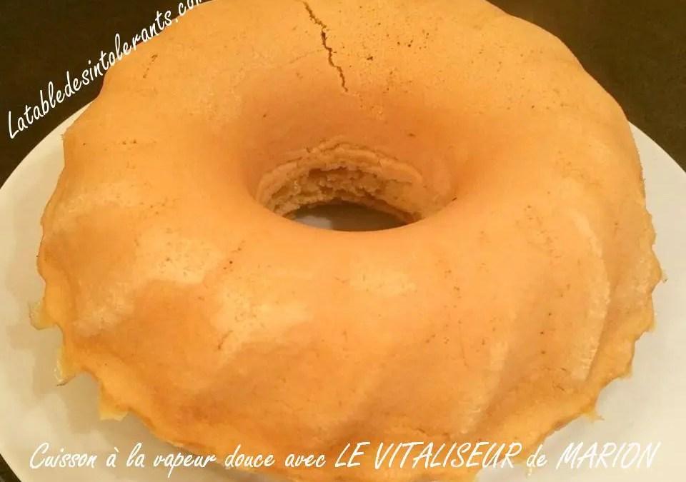BRIOCHE «MOUNA» sans gluten, sans lait, sans sucre, sans levure au four ou à la vapeur douce avec LE VITALISEUR DE MARION