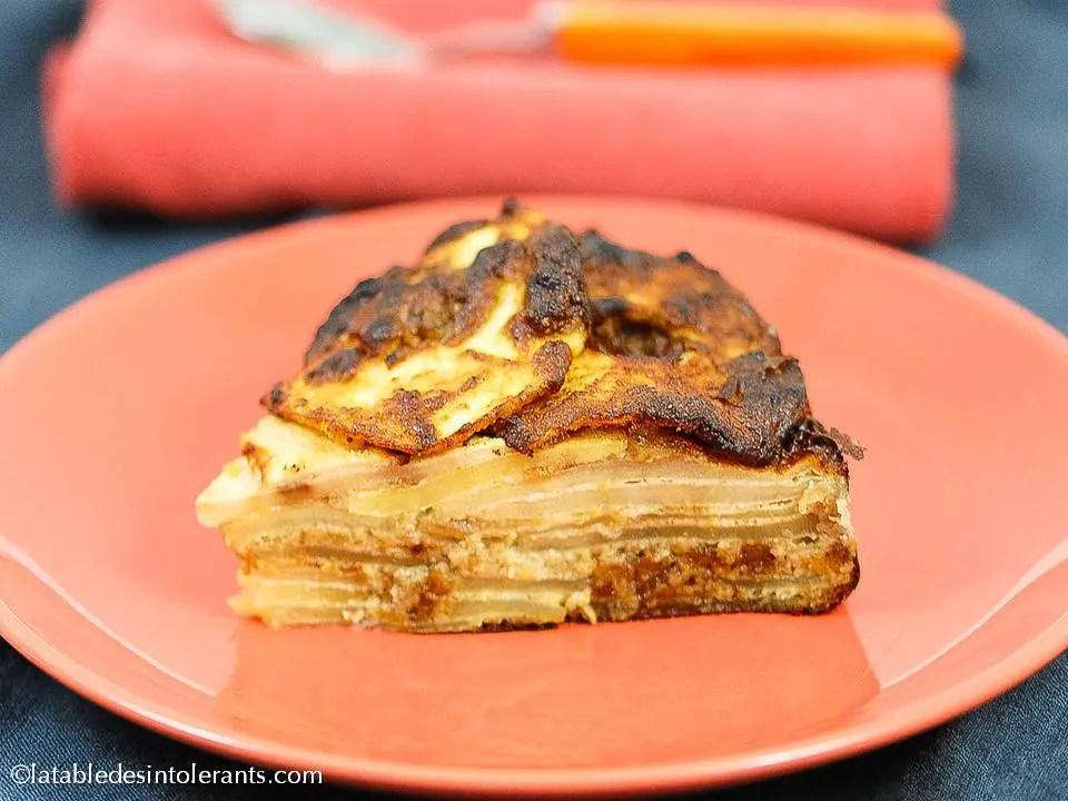 gâteau aux pommes pour intolérances et allergies alimentaires