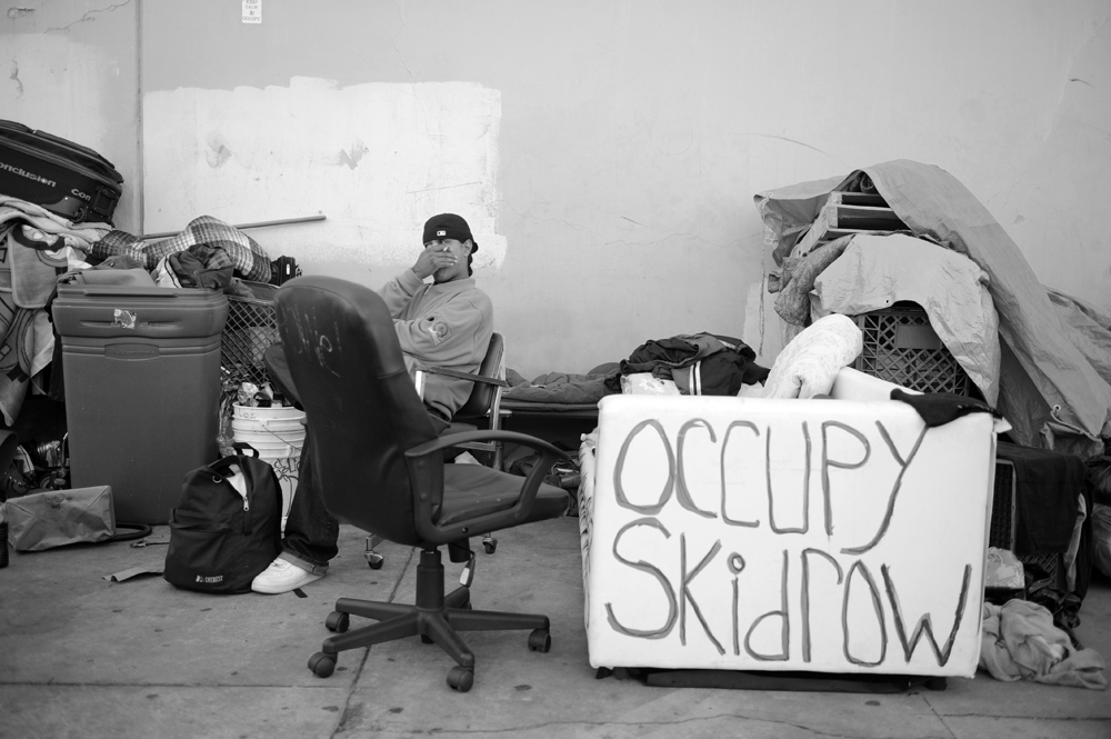 The People Down on Skid Row ~ Photo Essay by Tom Andrews
