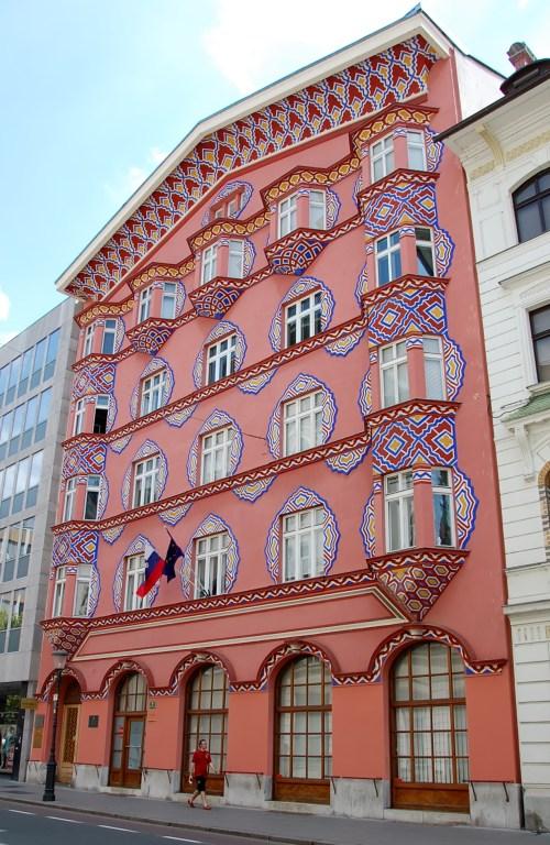 i palazzi decorati