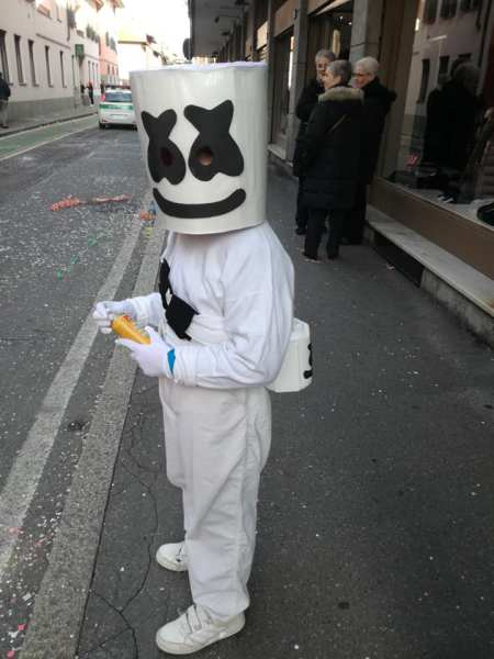 costume da Marshmello