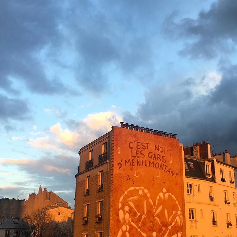 Coucher de soleil sur Paris. #sunset