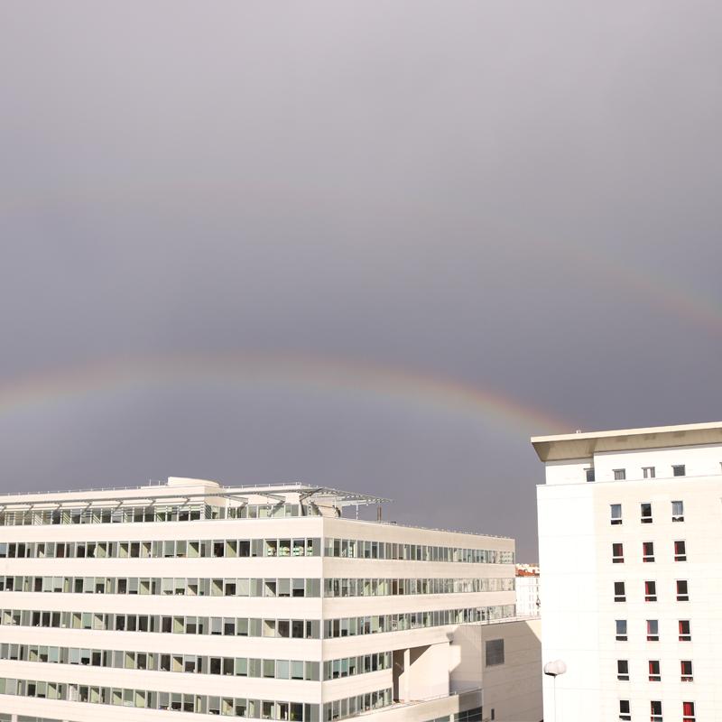Double arc-en-ciel #skyporn