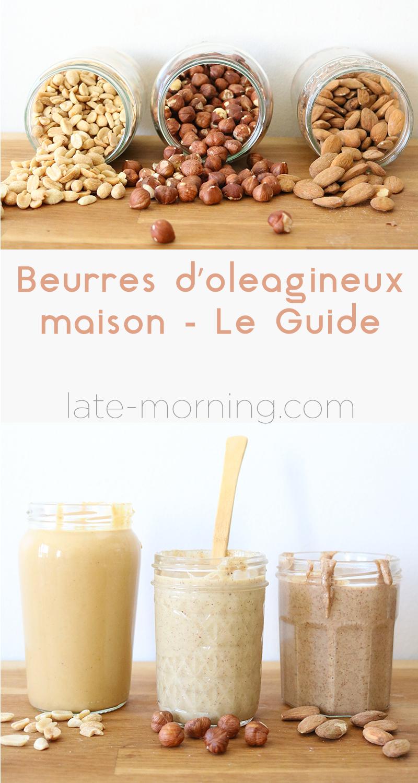 Découvrez mon guide pour réaliser de délicieux beurres d'oléagineux maison. Cacahuètes, amandes, noisettes..