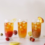 Fresh Red, délicieuse boisson fraîche au rooibos et jus de fruits.