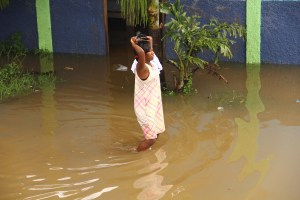 We Were Egged, Drugged, Flood in Haiti, Some Thoughts