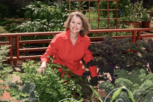 Palisadian-Post features Kaye in Spring Garden issue-Kaye kale