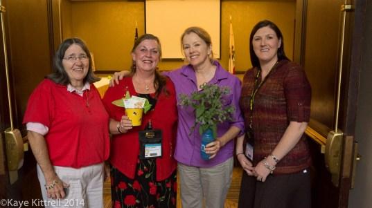 We need all the bees we can get - Ila, Sandy, Kaye & Amanda