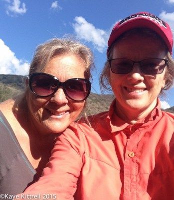 Four Fun-filled Primarily Paleo Days with a Midwife Blogger - Kaye & Sandi on hike
