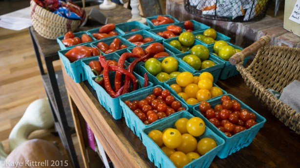 Files from the Road: Farm to Table in Pinewood - biodynamic produce