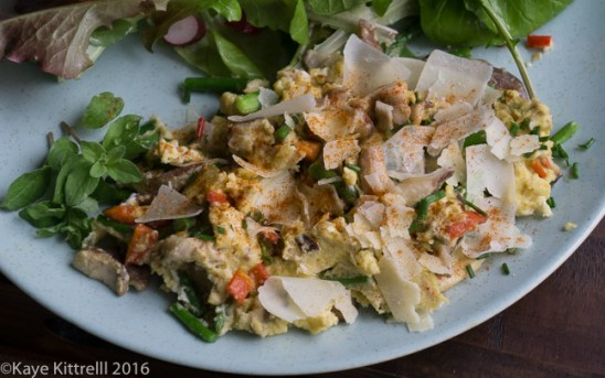 An Oscar-worthy Homegrown Brunch - scramble