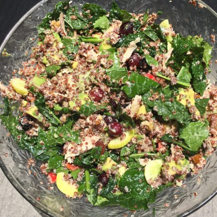 Everything but the Kitchen Sink Salad